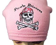 Tightly woven acrylic knit beanie with embroidered design.