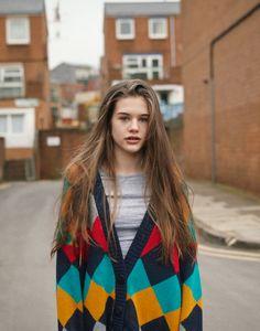 Phoebe-élena by Piczo #model #longhair #streetstyle