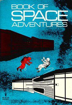 Book of Space adventure 60s  Astronauts