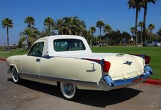 COOL 1950'S KAISER SPECIAL PICKUP - REAR VIEW