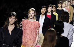 An ode to Fred and Ginger represents the Dris Van Noten universe at Paris Fashion Week. #parisfashionweek2013 #parisfashionweek #fashion #paris #france #fallfashion