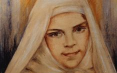 Blessed Mary of Jesus Crucified, OCD to be canonized on May 17, 2015.  She is the Lily of Palestine and the first canonized Arab saint.  Pray for us little Sister.