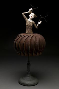 Kirsten Stingle – Sculptures – Harnessing Her Universe