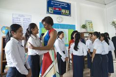 The First Lady on why #LetGirlsLearn is personal  The First Lady Lenny #culture #education