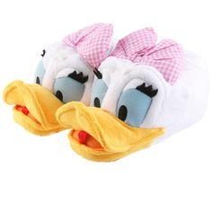 SAMs Tierhausschuhe Disney Daisy Duck Hausschuhe lustig witzig warm, DaisyDuck: Amazon.de: Schuhe & Handtaschen