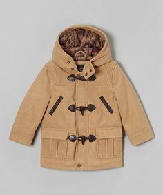 Camel Toggle Coat - Infant, Toddler & Boys by Urban Republic #zulilyfinds