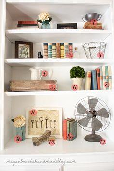 styling bookshelfs