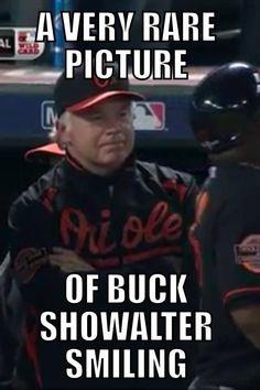 LOL..Buck smiling