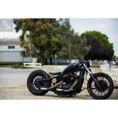 Honda Shadow 600 | Bobber Inspiration - Bobbers and Custom Motorcycles September 2014.
