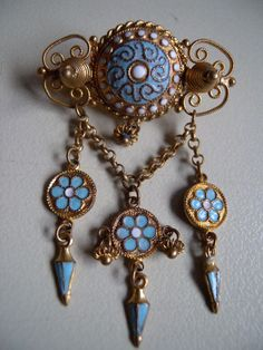 Art Nouveau Jewelry, Jewelry Art, Vintage Jewelry, Belle Epoch, Art Deco, Silver Enamel, All Art, Costume Jewelry, Brooch