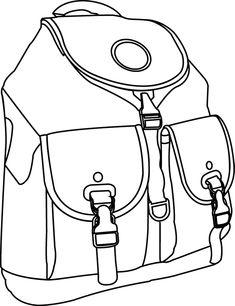 R sultat de recherche d 39 images pour esquisse mode - Coloriage sac a dos ...