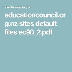 educationcouncil.org.nz sites default files ec90_2.pdf