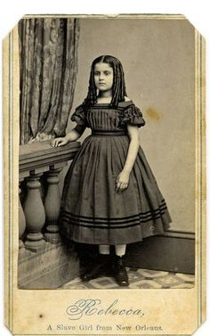 """1860s - Emancipated Slave Children ... Slave children, freed and brought North by abolitionists to emphasize the plight of slaves. The proceeds from sale of the photographs were to be used to educate freed slaves who had come under the jurisdiction of the Union Army in the New Orleans area. A caption on the reverse of one of these photographs points out that the children had been turned out of a hotel in Philadelphia because of their """"color."""""""