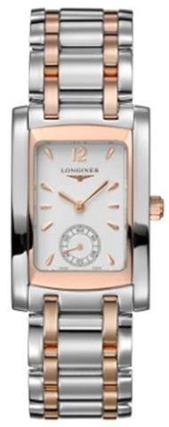Longines Watch DolceVita Ladies #bezel-fixed #bracelet-strap-rose-gold #brand-longines #buckle-type-deployment #case-depth-8mm #case-material-pink-rose-gold #case-width-22-4-x-26-85mm #delivery-timescale-1-2-weeks #dial-colour-white #gender-ladies #luxury #movement-quartz-battery #official-stockist-for-longines-watches #packaging-longines-watch-packaging #sku-lng-162 #subcat-dolcevita #supplier-model-no-l5-502-5-18-7 #warranty-longines-official-2-year-guarantee #water-resistant-30m