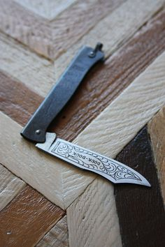French Douk-Douk Pocket Knife