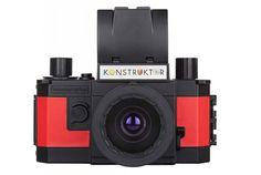 DIY魂をくすぐられます。魅力的なアナログカメラ製品を販売する「ロモグラフィー」から、組み立て式の一眼レフカメラ「Konstru...