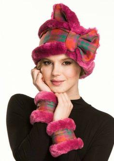 Cuffs & Collars MacNab Pink (1) Ladies Wear, Women Wear, Collar And Cuff, Tartan Plaid, One Design, Collars, Cuffs, Winter Hats, Glamour