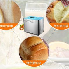 Automatic Multi-Functional Mini Bread Maker