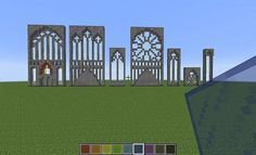 MInecraft stained glass inspo.