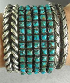 Red Mountain Turquoise Navajo Bracelet