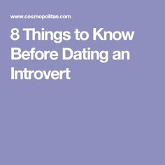 7 Tips For Dating An Introvert