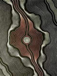 Aboriginal Art Painting by Anna Petyarre Pitjara ~ My Country