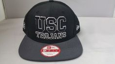 New Era USC Trojans University of Southern California 2 Tone Black Snapback Cap 9fify NewEra