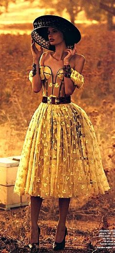 Cassi van den Dungen in Alexander McQueen | photo by Will Davidson for Vogue Australia