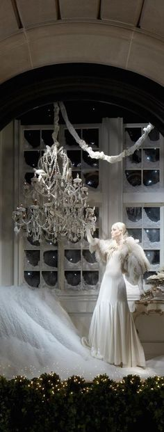 Ralph Lauren Christmas Window