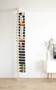 Wijnpaal champagne  Wijnrek / Wijnmeubel / Wine rack including champagne in color and gloss of choice