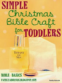 Family Abounds: Toddler Bible Lesson, Christmas, Part 4