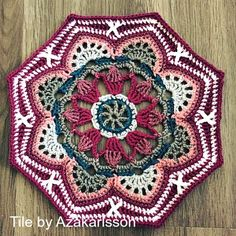 Crocheted Pattern baby blanket afghan square motif wrap throw on CrochetSquare.com #crochet #square #motif #crochetsquare