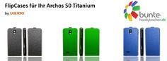 acros 50 titanium flipcase - now available in various colors under #caseroxx on ebay & amazon and under www.bunte-handytaschen.de