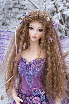 Lavender Fairy ~ Martha Boers