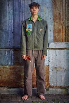 Cut Clothes, Contemporary Fashion, Spring Collection, Carhartt, Streetwear Fashion, Work Wear, Military Jacket, Street Wear, Bomber Jacket