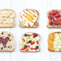 7 Healthy & Filling Breakfast Toasts