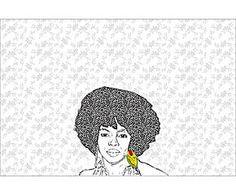Póster adhesivo Lauryn Hill – 102x68
