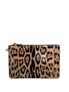 Leopard print pony hair clutch.. Fell in love with it