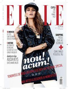 what's hot now: iulia cirstea by dan beleiu for elle romania september 2014