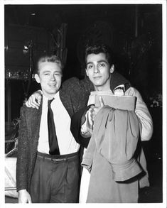 James Dean & Perry Lopez