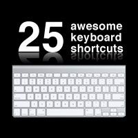 25 Photoshop Keyboard Shortcuts
