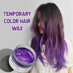 Temporary Color Hair Wax hot new