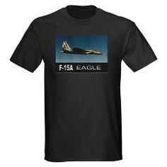 F-15A EAGLE Dark T-Shirt #aircraft #F15A #gifts