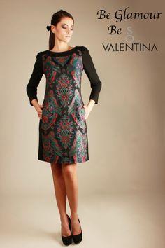 """Meraviglioso vestito da sera """"So Valentina"""", per farti sentire fiera Regina in ogni occasione. Vestito della linea luxury-glamour del brand """"So Valentina""""  www.sovalentina.com"""