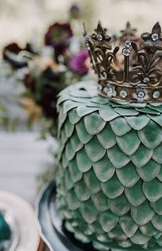 A G.O.T. Queen of Dragons Baby Shower - Inspired By This