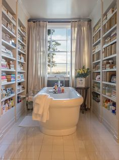 Wow!  Looks like a great place to relax!  #bathrooms #jenniferlopezbathroom