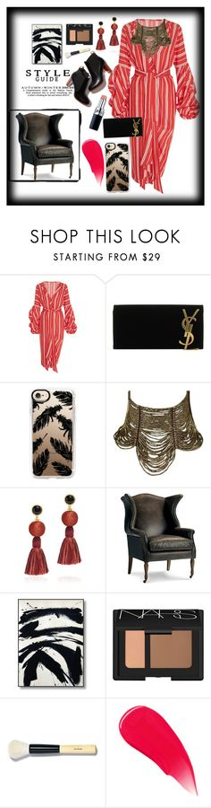 """""""52"""" by santyfebrina-nasution on Polyvore featuring Johanna Ortiz, Yves Saint Laurent, Casetify, Christian Dior, Lizzie Fortunato, Frontgate, NARS Cosmetics, Bobbi Brown Cosmetics and Burberry"""