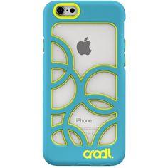 cradl. - Bubbles Case for Apple iPhone 6 & 6s - Aqua (Blue), 20-11-100