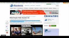 An excellent introduction video on Pinterest in the Classroom (from Edudemic)
