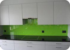 ESG Weissglas 6mm (Farbton, Giftgrün) Kitchen Cabinets, Home Decor, Decoration Home, Room Decor, Cabinets, Home Interior Design, Dressers, Home Decoration, Kitchen Cupboards